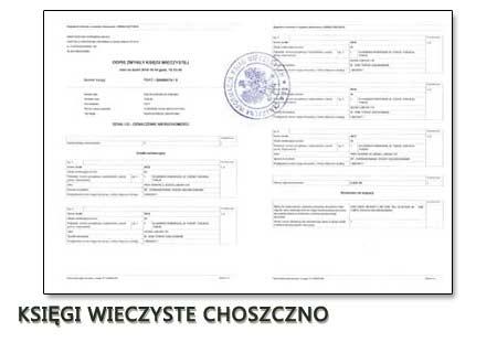 Księgi Wieczyste Choszczno