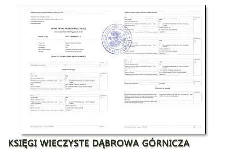 Księgi Wieczyste Dąbrowa Górnicza