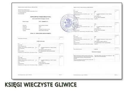Księgi Wieczyste Gliwice
