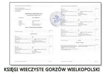 Księgi Wieczyste Gorzów Wielkopolski
