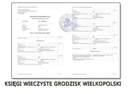 Księgi Wieczyste Grodzisk Wielkopolski
