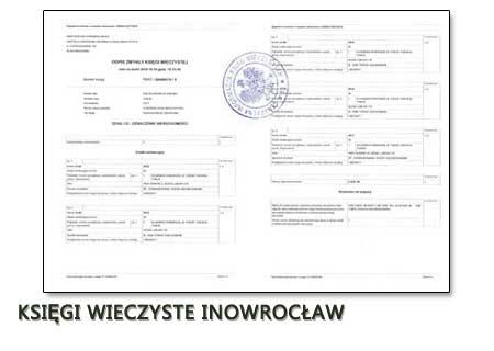 Księgi Wieczyste Inowrocław