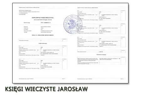 Księgi Wieczyste Jarosław