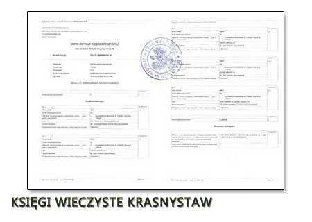 Księgi Wieczyste Krasnystaw