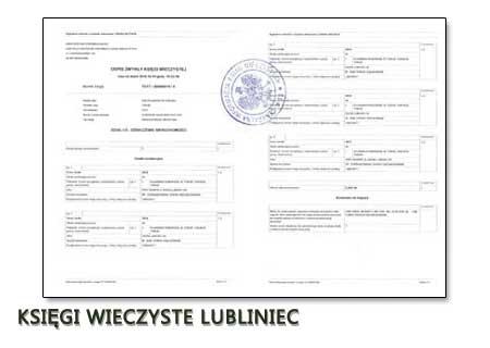 Księgi Wieczyste Lubliniec