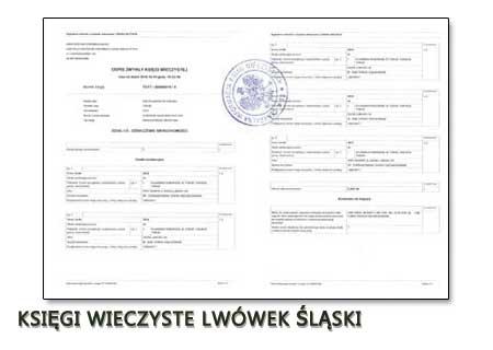 Księgi Wieczyste Lwówek Śląski
