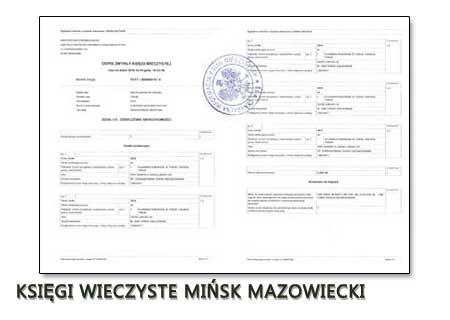 Księgi Wieczyste Mińsk Mazowiecki