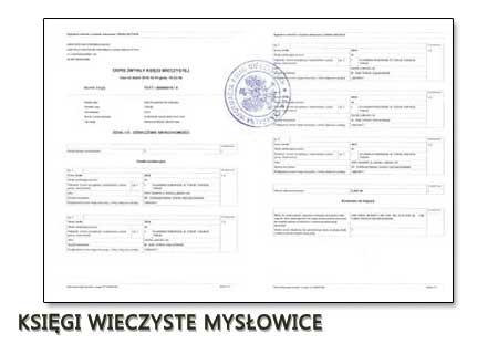 Księgi Wieczyste Mysłowice