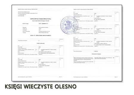 Księgi Wieczyste Olesno