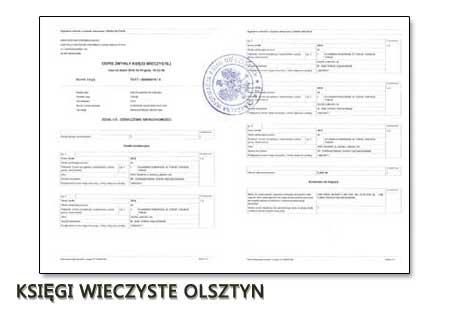 Księgi Wieczyste Olsztyn