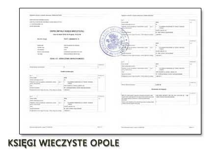 Księgi Wieczyste Opole
