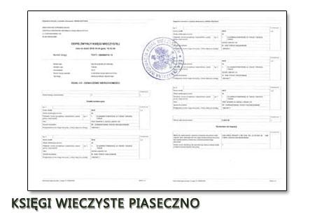 Księgi Wieczyste Piaseczno