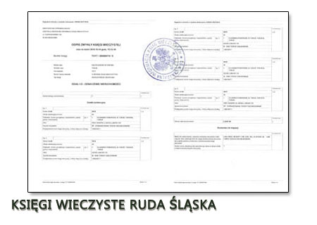 Księgi Wieczyste Ruda Śląska