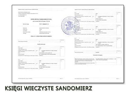 Księgi Wieczyste Sandomierz