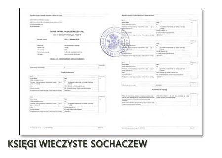 Księgi Wieczyste Sochaczew