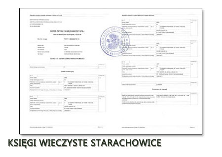 Księgi Wieczyste Starachowice